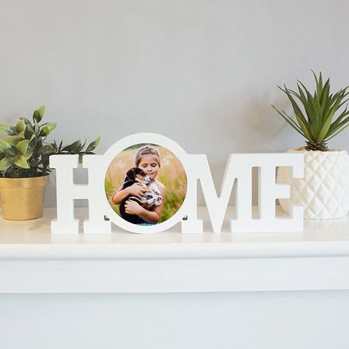 Home Word Photo Block